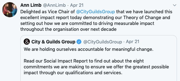 City & Guilds Twitter